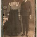 Szerelmes pár 1912 körül: Basa Anna (1893-1982) és Ézsiás Lukács (1893-1972)
